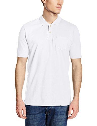 CALAMAR MENSWEAR Herren Poloshirt 109460, 3p01 Weiß (PURE WHITE 01)