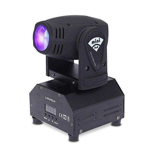 ada,Lichteffekt,DJ Effekt,Bühnenbeleuchtung,Party Licht,Pin Spot DMX512 RGBW/4 Steuerungsmodi,11/13 Kanäle ()