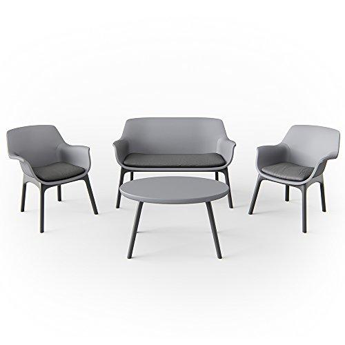Gartenmöbel Lounge Set Sitzgarnitur