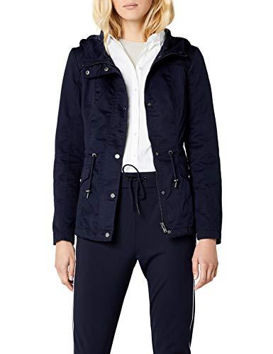 ONLY Damen Parka Onlnew Kate Spring Jacket OTW NOOS, Blau (Night Sky), 36 (Herstellergröße:S)