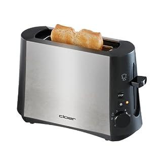 cloer-3890-Single-Toaster-Edelstahl-mattiert-schwarz