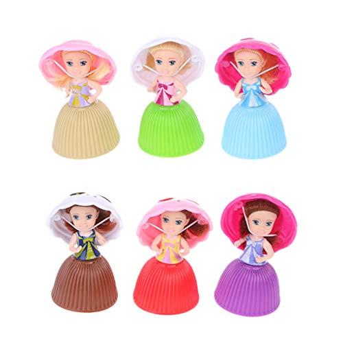 Junlinto, Dibujos Animados Encantadora Magdalena Princesa muñeca transformada Pastel perfumado muñeca de Juguete niñas Juguetes para bebés