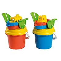 Androni Giocattoli S.R.L. Assorted Boat Bucket (5-Piece, Set of 11)