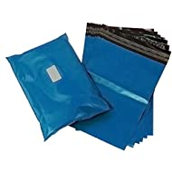 Triplast 5 x 7 cm, plastica Mailing Postal Bag, colore: blu (confezione da 100)