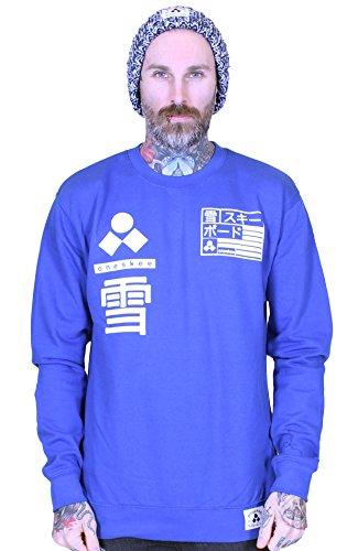 Oneskee Apres -  Felpa  - Uomo Royal Blue Small