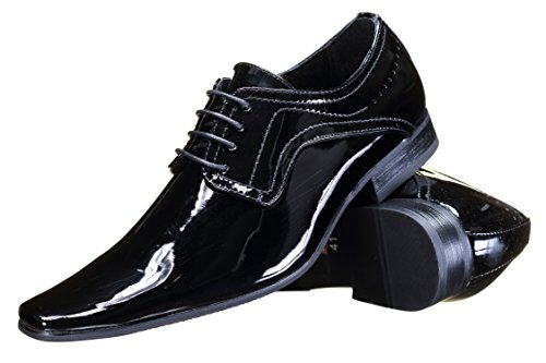 Reservoir Shoes - Chaussure Derbie Ito Black Patent Noir