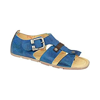 Eject Damen Zehentrenner Sandale FLYING 17599 Blau, EU 40