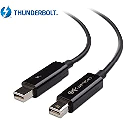 Cable Matters [Certifié] Câble Thunderbolt/Câble Thunderbolt 2 2 Noir 1m