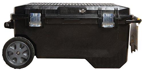 """Stanley FatMax Mobile Montagebox """"Structural Foam"""", 113 Liter Ladevolumen, Schwerlasträder, Metallschließen, 1-94-850"""