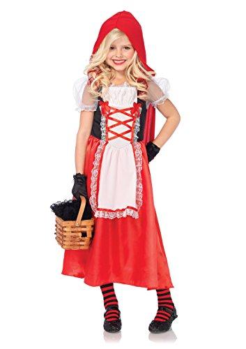Leg Avenue C48143 - Kids Red Riding Hood Kinderkostüm, Medium (122-128) ()