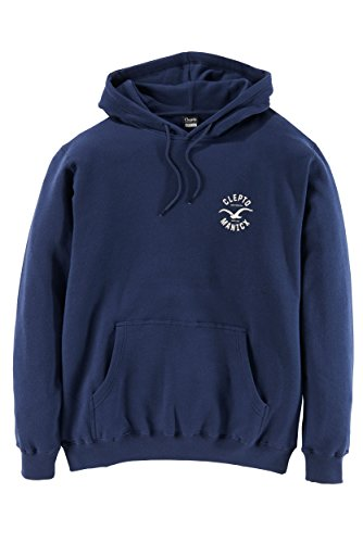 Cleptomanicx Games Hoodie Navy