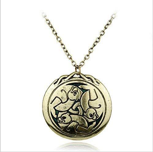 Halskette, The Brave Merida inspirierter Anhänger, Geschenk für Sie, Love Halskette