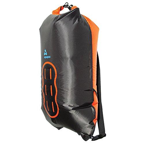 feuerwehrschlauch taschen Aquapac Noatak Wet & Dryback, schwarz-orange, 94 x 56 x 2 cm, 60 liters, 750, 0.00 euro/100 ml