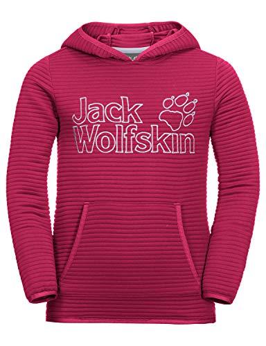Jack Wolfskin Kinder Modesto Hoody Kapuzenpullover, Azalea red, 164 13 Azalea
