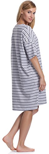 Italian Fashion IF Damen Nachthemd Dafne 0114 Melange