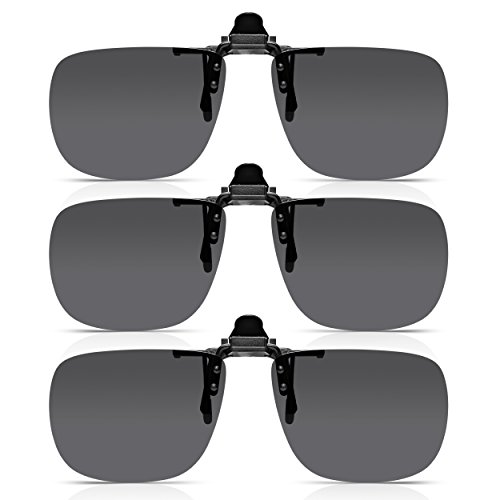 9e6e44251974 Read Optics 3 Pack Flip-Up Sunglasses  Clip-On Glasses Quickly and Securely