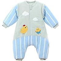 CLLCR Saco de Dormir para Las Piernas del Bebé/Otoño E Invierno, Algodón Grueso