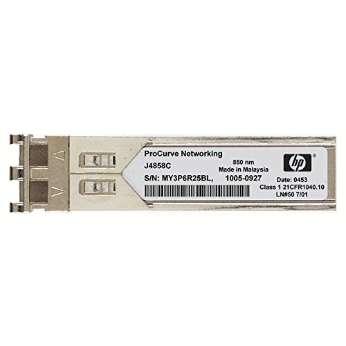 Hewlett Packard Enterprise X1211g SFP LC SX Glasfaser 850nm 1000Mbit/s SFP Modul Transceiver Netzwerk-–Module Netzwerk-Funkgeräte (1000Mbit/s, SFP, LC, SX, optische Faser, 62,5/125, 50/125)