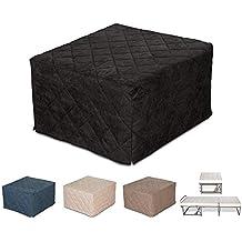 EvergreenWeb – Puf cama individual con colchón, 10 cm de altura - Suite, Varios