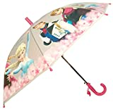 SurprizeMe Disney Frozen Pink Kids Girls Stick Umbrella