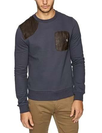Gio Goi Righton Men's Sweatshirt Charcoal Grey X-Large