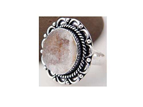 ver Plated Ring Handmade Designer Ring Jewelry (Ring Size 9.5 USA) AH-12044 ()