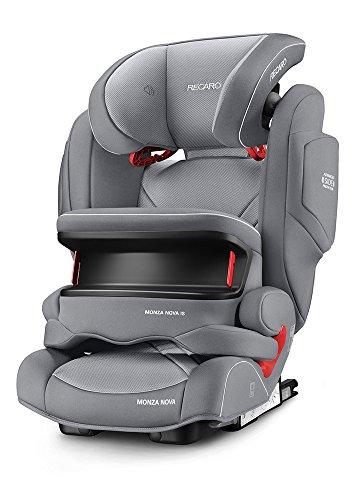 Preisvergleich Produktbild RECARO Monza Nova IS Seatfix Aluminium Grey