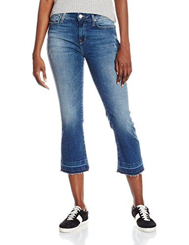 Mavi Damen Flared Jeans Anika, Blau (Mid Used Vintage 22260), W26 (Herstellergröße: 26/)