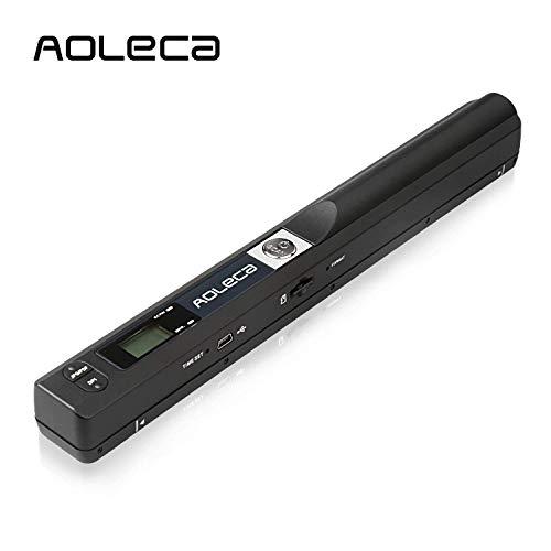 AOLECA Scanner Portatile 900DPI per Documenti A4,...