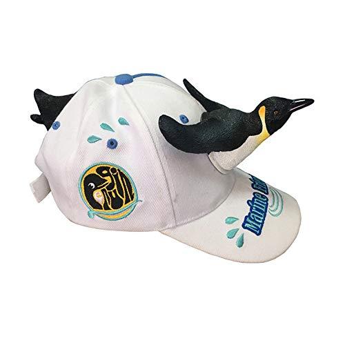 Mzdpp Gorra De Pingüino Tridimensional Gorra De Béisbol del Sombrero De Los  Animales De La Personalidad 7ce6ac827ce