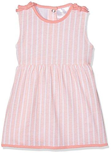 Twins Baby-Mädchen Kleid, Mehrfarbig (rosa/weiß 3200), 86