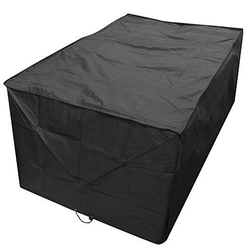 QINAIDI V-förmige Außenmöbel Abdeckungen, Patio Sectional Couch-Schutz Wasserdicht, L-Form, wasserdicht Garten-Sofa-Abdeckung Schutz,square155x95x68cm