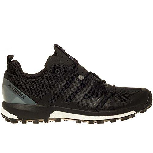 adidas Terrex Agravic, Zapatos de Senderismo para Hombre, Negro (Nero