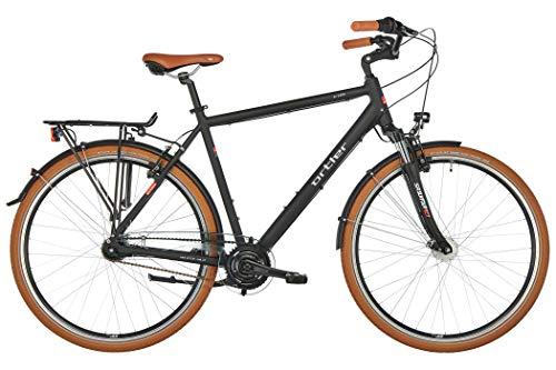 ORTLER deGoya Herren schwarz matt Rahmenhöhe 60cm 2019 Cityrad