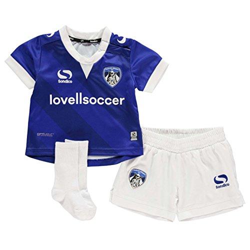 Sondico Enfant Bébé Équipe de football Sport Oldham Bleu/Blanc 18/24 mois Sondico