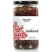 SKYHILL Natural Gulkand with Elaichi & Kesar -500gm [Glass Jar]