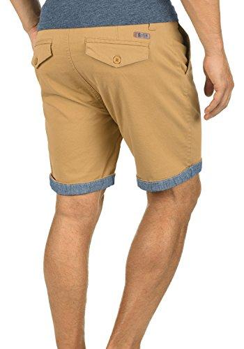 SOLID Lagoa Herren Chino-Shorts kurze Hose Business-Shorts aus hochwertiger Baumwollmischung Apple Cinnamon (6591)
