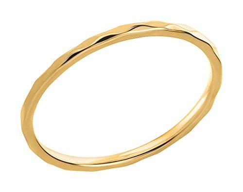 Ardeo Aurum Damenring aus 375 Gold Gelbgold Vorsteckring Stapelring