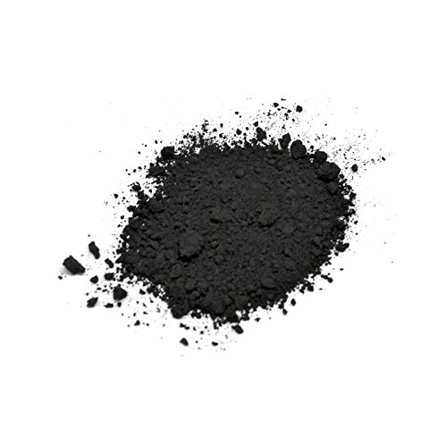 Lienzos Levante 0210121025 - Pigment pur en pot de 100 ml, 25, couleur Noir d'ivoire