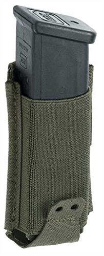 Claw Gear 9mm Low Profile Mag Pouch RAL7013, Steingrauoliv (9 Pouch Mm Mag)
