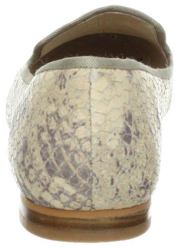 Sam Edelman Aster Femmes Cuir Chaussure Plate BlkWht Snake