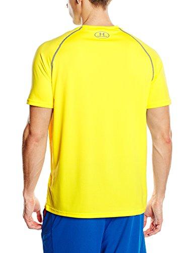 Under Armour Herren Fitness T-Shirt UA Tech Tee Gelb (Sunbleached)