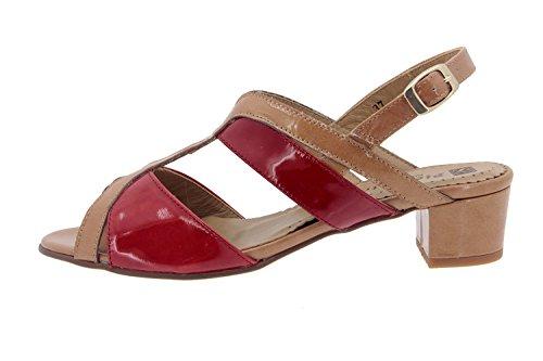 Scarpe donna comfort pelle Piesanto 4479 sandali casual comfort larghezza speciale
