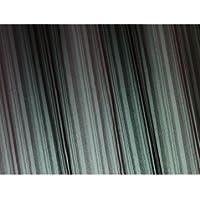 HomeMaison Fantasie HM6957922 - Tenda avvolgibile in tulle, 45 x 200 cm, colore: Cioccolato
