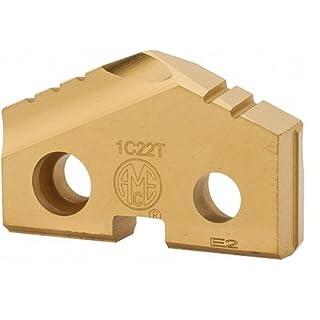 Allied Machine & Engineering 1C22T-0103 TiN Coated C2 Carbide (K20) Original T-A Drill Insert, Series 2, 1-3/32