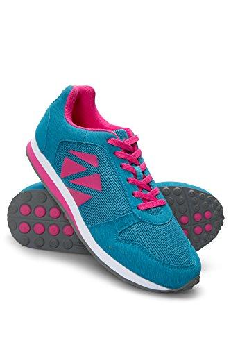 Zakti Kids Sneak Up On Me Sneakers Blaugrün
