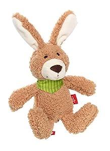 Sigikid 42364 Huberto Hummeltal Mini - Conejo de Peluche (tamaño pequeño), Color marrón