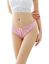 STRIR Tangas de Encaje G-String Ropa Interior Bragas para Mujer Ropa Íntima Sexy Hermosa