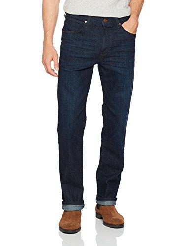 Wrangler Herren Jeans Arizona Straight Leg, Blau Blue 7K, 36W / 36 L