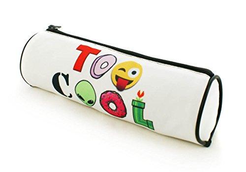 Estuches plumier la tuba caja de lápices ronda multicolor Too Cool for School [025]